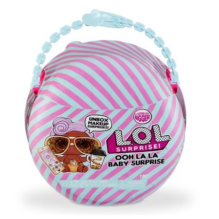 L.O.L. Surprise! Ooh La La Baby Surprise Lil D.J. with Purse & Makeup Surprises