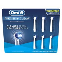 Oral-B Precision Clean Replacement Brush Heads, 6 Ct