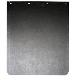 GLOBETECH MANUFACTURING 2430TPSBRC 24X30 TIREPLAST STANDARD MUD FLAP WITH ROUNDED - Leather Mud Flap