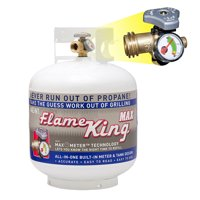 20 lb. Propane Cylinder with Type 1 Overfill Protection Device Valve and Built-In Gauge (Ships Empty)