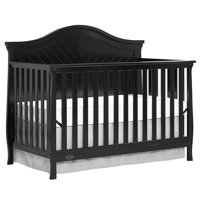 Dream On Me Kaylin 5-in-1 Convertible Crib, Black