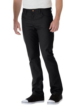 Dickies Men's Slim Straight 5-Pocket Twill Work Pants