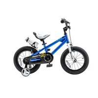RoyalBaby Freestyle Blue 12 inch Kid's Bicycle