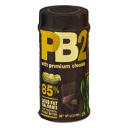 (2 Pack) Bell Plantation Powdered Peanut Butter With Chocolate, 6.5 oz