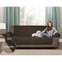 Mainstays Reversible Microfiber 3 Piece Loveseat Furniture Cover Protector