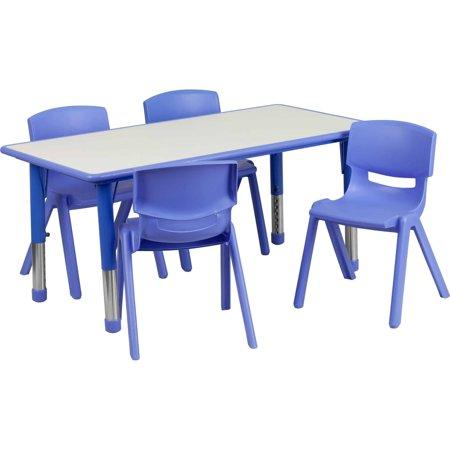 Flash Furniture 23 625 W X 47 25 L Adjustable