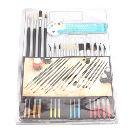 - 15 Paint Brush Set All Purpose  Watercolor Acrylic Art Craft Artist Painting