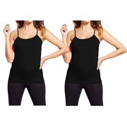 d62d3b78c653c Maternity Cami Nursing Tank Tops Seamless Basic Maternity Camisole Stretch  Active Wear (One Size Fits