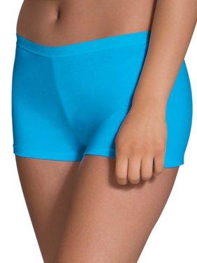 Women's Assorted Cotton Shortie Boyshort Panties, 6 Pack