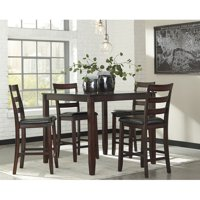 Signature Design by Ashley Coviar 5 Piece Counter Height Dining Table Set