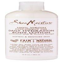 SheaMoisture 100% Virgin Coconut Oil Daily Hydration Body Lotion, 13 oz