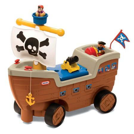 Little Tikes Play 'n Scoot Pirate (Lurline Ship)