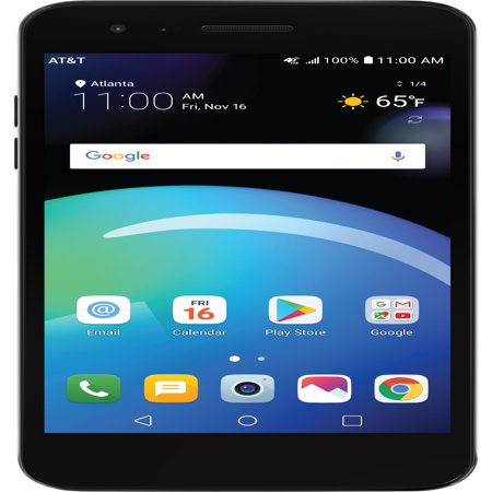 - AT&T PREPAID LG Phoenix 4 16GB Prepaid Smartphone, Black – Get UNLIMITED DATA. Details below.