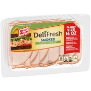Oscar Mayer Deli Fresh Smoked Turkey Breast Tray, 16 Oz.