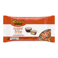 Hershey's Reese's Sugar-Free Miniature Peanut Butter Cups, 8.8 Oz.