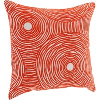 Better Homes & Gardens Chenille Swirls Decorative Throw Pillow, 18 inch x 18 inch