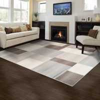 Superior Designer Clifton Multicolored Collection with 8mm Pile and Jute Backing, Moisture Resistant and Anti-Static Indoor Area Rug