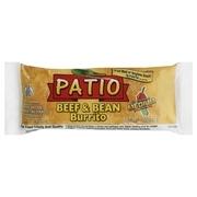 Patio Medium Beef & Bean Burrito, 5 oz