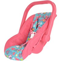 My sweet love baby carrier, pink with heart print, designed for ages 3 and up