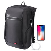 2c546651721 Travel Laptop Backpack,Business Anti Theft Slim Durable Laptops Backpack  USB Charging Port,Water