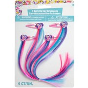 My Little Pony Rainbow Hair Clip Party Favors 4ct