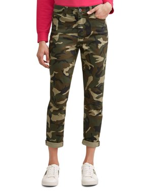 Preston High Rise Skinny Ankle Jean Women's (Camo)