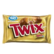 Twix Fun Size Halloween Caramel Chocolate Cookie Candy Bar, 20.62 Oz.