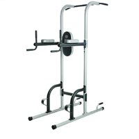 Gold's Gym XR 10.9 Power Tower with Push Up, Pull Up, and Dip Stations