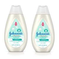 (2 pack) Johnson's CottonTouch Newborn Baby Wash & Shampoo, 6.8 fl. oz