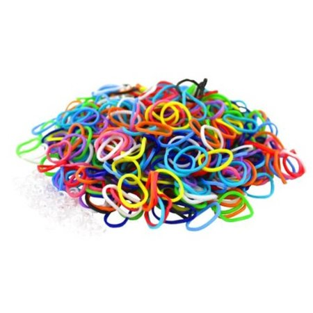 Assorted Color DIY Fun Loom Bracelet Making Kit Arts and Crafts for Girls & Kids - Kids Arts And Crafts
