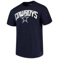 Men's Navy Dallas Cowboys Eclipse Arch T-Shirt