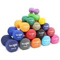 Yes4All Neoprene Dumbbell with Non Slip Grip Great for Total Body Workout