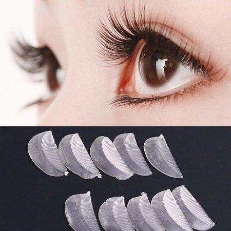 5 Pairs Silicone Eyelash Permanent Curler Curling Root Lifting False Fake Eyelash Pad,5 Pairs/Pack Silicone Eyelash Permanent](How Do I Apply Fake Eyelashes)