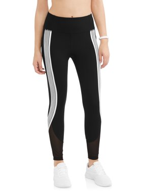 Women's Active Stripe It Up Performance Crop Legging