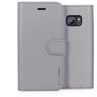 BUDDIBOX Galaxy S7 Case Case Premium PU Durable Leather Wallet Folio Protective Cover Case for Samsung Galaxy S7