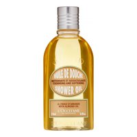 L'Occitane Cleansing And Softening Shower Oil With Almond Oil, 8.4 Fl Oz