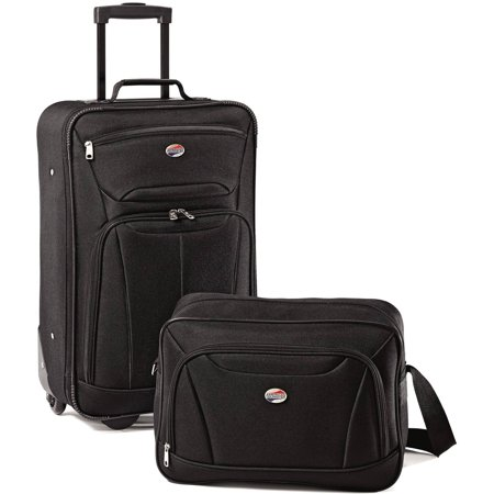 2 Piece Luggage Set (American Tourister Fieldbrook II 2-Piece Softside Luggage Set )