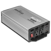 Bravo View INV-1600U – 1600-Watt Power Inverter with Dual USB Charging