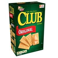 (2 Pack) Keebler Club Snack Crackers Light Flaky Butter Original, 13.7 Oz