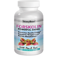~ STRONG ~ 500mg FORSKOLIN Extract for Weight Loss Pure