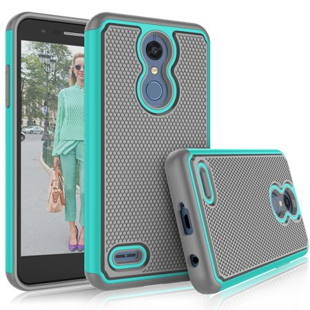 - Tekcoo Phone Case For 2018 LG Xpression Plus / K30 / Harmony 2 / Phoenix Plus / Premier Pro LTE / K30 Plus / K10 2018 / K10 Plus 2018, Tekcoo [Mint] Rubber Silicone & Plastic Rugged Grip Cases Cover