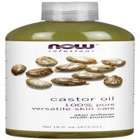NOW Solutions Castor Oil, 16 Fl Oz