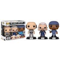 Funko Movies: POP! Star Wars - Cloud City 3 Pack, Lobot, Ugnaught, Bespin Guard - Walmart Exclusive