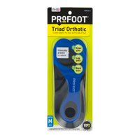 Profoot Triad Orthotic Mens 8-13 Insoles, one pair