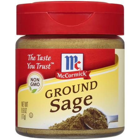 McCormick Ground Sage, 0.6 oz Shaker