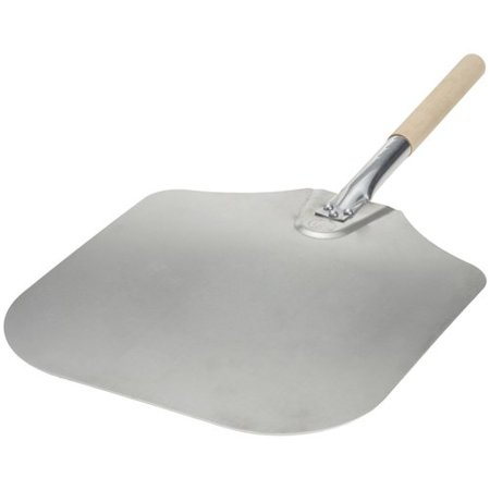 Honey Can Do 14-Inch X 16-Inch Aluminum Pizza Peel With Wood Handle