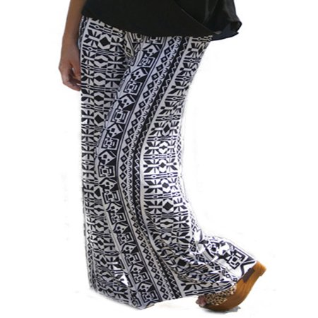 Women Pant Floral Print Loose Boho Harem Wide Leg Pants Palazzo Yoga Trousers - Toga Clothes
