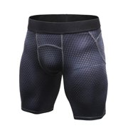 Mens Sport Compression Shorts Quick-drying Workout Stretch Pants 5e2f3a5147b9