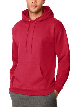 Men's Ultimate Cotton Heavyweight Fleece Hood with Front Pocket