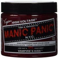 Manic Panic Classic Cream Vampire's Kiss Semi-Permanent Formula Hair Dye, Red 4 oz